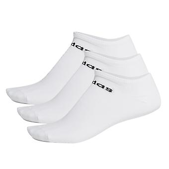 adidas Low Cut Ankle Exercise Fitness Sport Socks White (3 Pack)