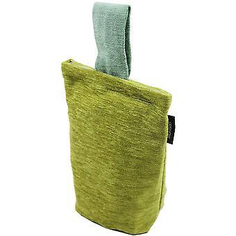 Mcalister tekstiler Alston chenille grøn + ande æg Dørstop