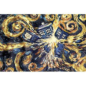 Doctor Who explosant Tardis Maxi Poster 61x91.5cm