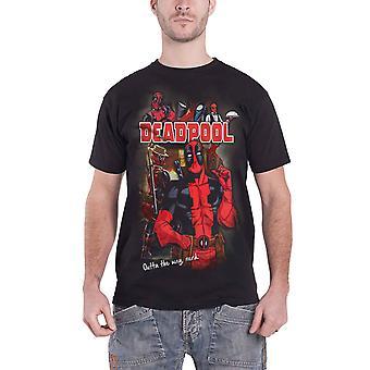 Deadpool T Shirt Deadpool Homage new Official Marvel comics Mens Black