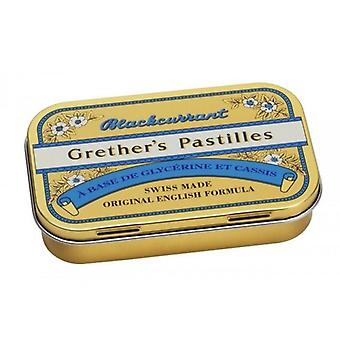 Grether's Blackcurrant Pastilles 110g