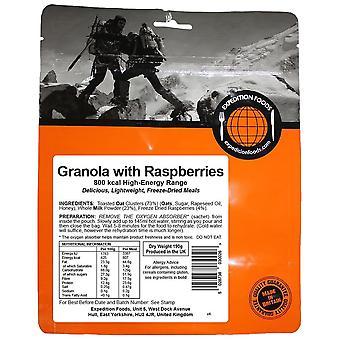 Expedition Foods Black Granola aux framboises