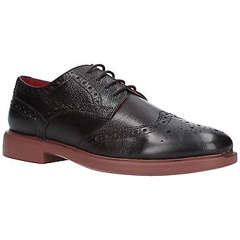 Lambretta Mens Spencer Brogue Lace Shoe Dark Brown