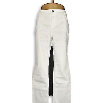 Peace Love World Women's Jeans Denim White A292479