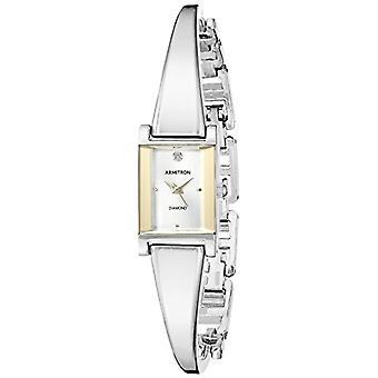 Armitron Clock Donna Ref. 75/5322SVTT