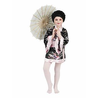 Kimono Kiwi Girl Kids Costume Japanese Girl Carnival Asian Akina Carnival Children Costume