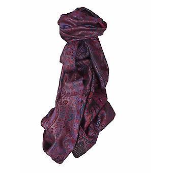 Mens Jamawar Premium Silk Scarf Modello 5149 di Pashmina & Silk