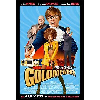 Austin Powers Goldmember (Single Sided Regular) (2002) Original Cinema Poster