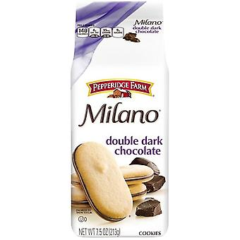Pepperidge Farm Milano dubbel mörk chokladkakor