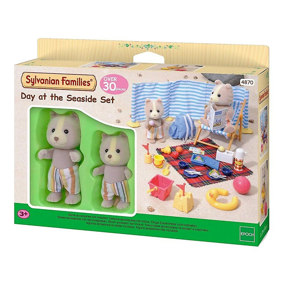 Sylvanian Families Day At The Seaside   4870