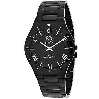 Roberto Bianci Men's Eterno Black Dial Uhr - RB0310