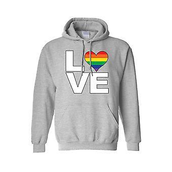"""Unisex hettegenser LHBT """"Rainbow Flag Gay elsker stolthet!"""""""