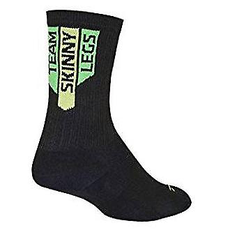 Chaussettes - Sockguy - 6'quot; SGX Team Skinny Legs (Green) L/XL Cycling/Running