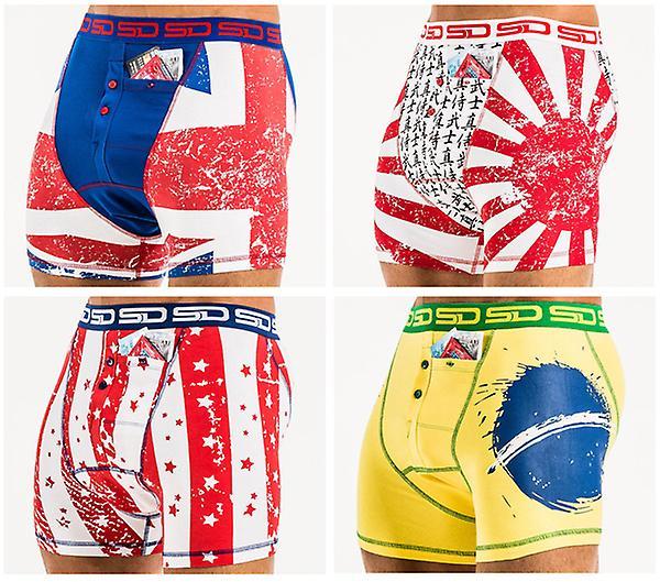 Smuggling Duds Pocket Underwear - 4 Pack International Part 1