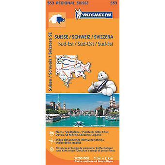 Suisse SudEst  Michelin Regional Map 553