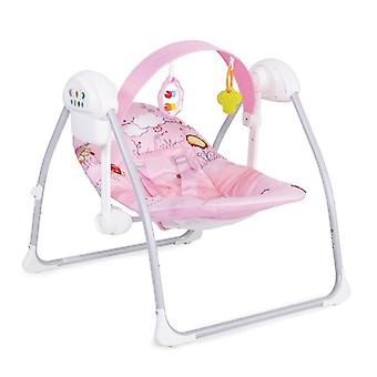 Baby rocker Party Green, 3 speed levels, music, timer function