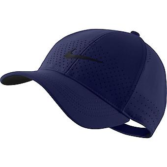 Nike Aerobill παλαιού τύπου εκτέλεση ς καπάκι | Μπλε κενό| Μαύρο
