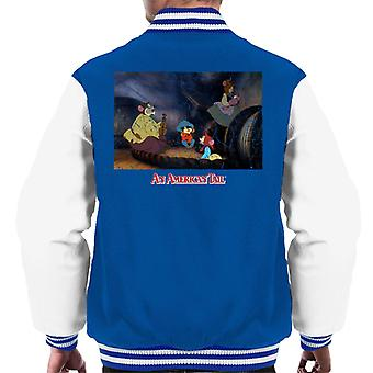 An American Tail Fievel And Family Men's Varsity Jacket