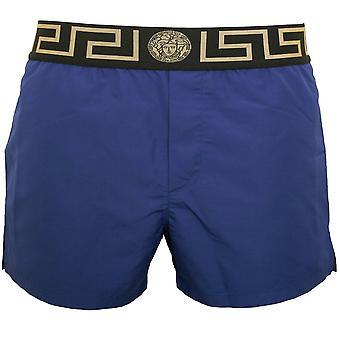 Pantaloncini da bagno Luxe Iconici, Bluette/oro
