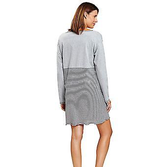 Rösch 1204092-16564 Women's Smart Casual Ringlet Grey Gestreepte Nightdress