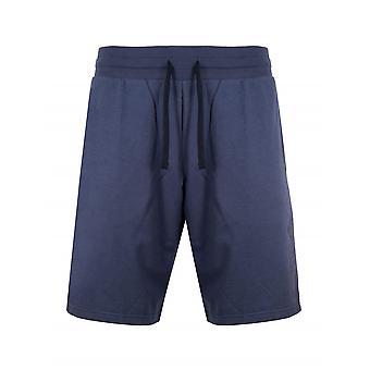 Emporio Armani Loungewear Emporio Armani Navy Eagle Jersey Shorts