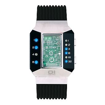 THE ONE Watch Men's Binary Wristwatch Split Screen SC102B5