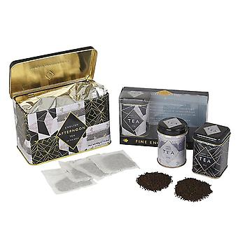 Art deco english tea gift set