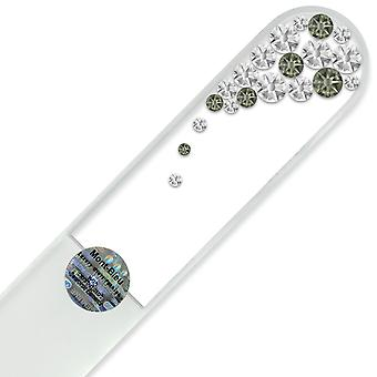 Large Glass Nail File with Swarovski crystals B-B