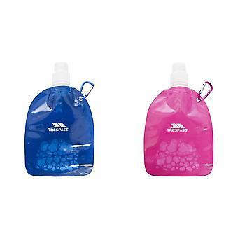 Trespass Hydromini Collapsible Water Bottle