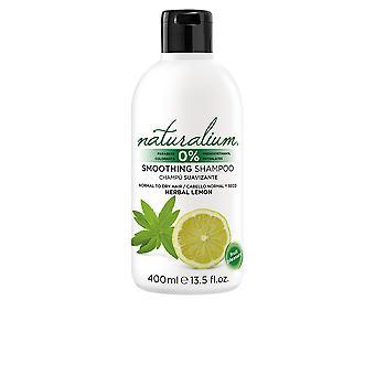 Naturalium växtbaserade citron utslätande schampo 400 Ml Unisex