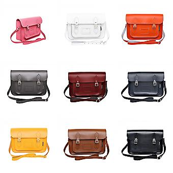 Zatchels Womens/Ladies Handcrafted Leather Top Handle Satchel (British Made)