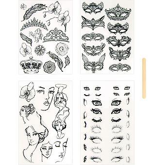 Tatuaggi del Diario di Spellbinders Masquerade