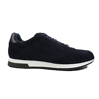 Loake Bannister Navy Suede