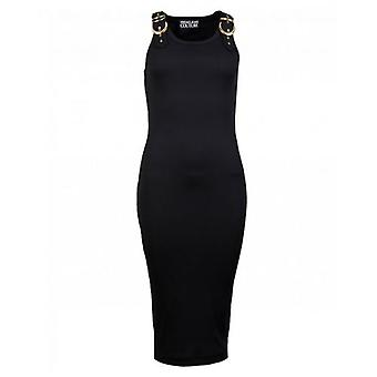 Versace Jeans Couture Knitted Belt Strap Dress