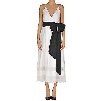 N°21 Ezgl068173 Women's White Cotton Dress