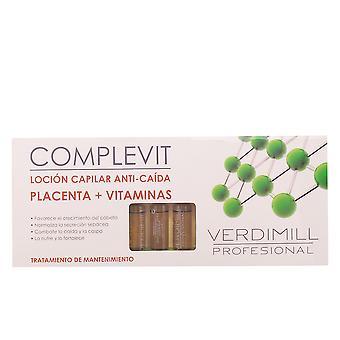Verdimill Verdimill Profesional spadek anty-włosów łożysko 12 Ampollas Unisex