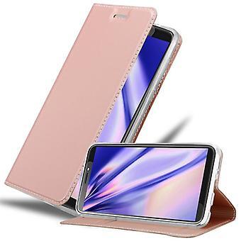 Cadorabo tapauksessa HTC Desire 12 PLUS tapauksessa tapauksessa kansi - puhelimen tapauksessa magneettinen lukko, seistä toiminto ja korttiosasto - Kotelo cover suojakotelo tapauksessa taitto tyyli