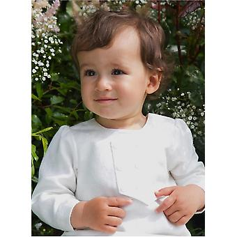 White Christening Gown For Boys,  Grace Of Sweden, With Brocade Vest