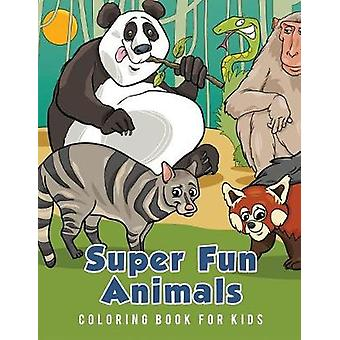 Super Fun Animals Coloring Book for Kids by Scholar & Young