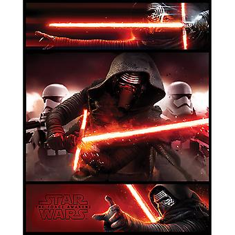 Star Wars Kylo Ren Paneelit Mini Juliste