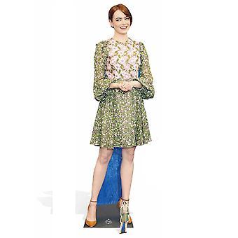 Emma Stone kjendis Lifesize papp åpning / Standee / stå opp