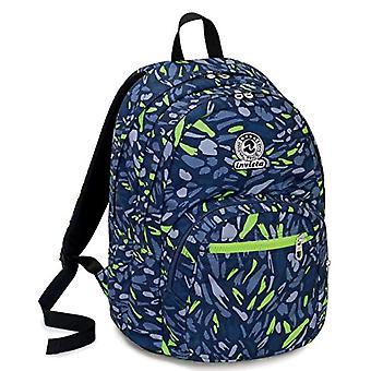 Plecak format Invicta art-31 lt-Blue-Double przedział-Szkoła & wypoczynek