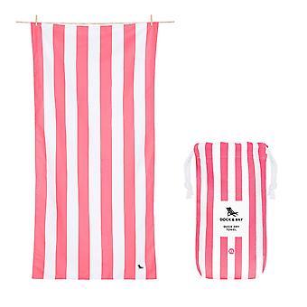 Dock & bay quick dry towel - cabana - kuta pink