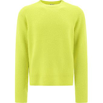 Acne Studios 29h151yellow Mænd's Gul Uld Sweater