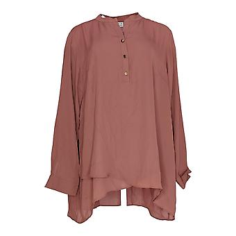 Joan Rivers Classics Collection Women's Top Flowy Tunic Purple A301917
