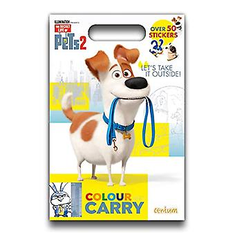 Secret Life of Pets 2 - Colour & Carry - 9781912841790 Book