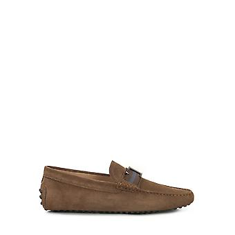 Tod's Xxm0gw0ct50re0s818 Men's Brown Suede Loafers