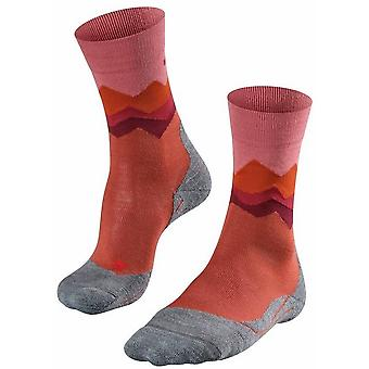 Falke Trekking 2 Crest Socks - Copper Orange