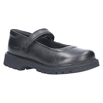 Hush puppies girl's tally touch fastening shoe black 26394