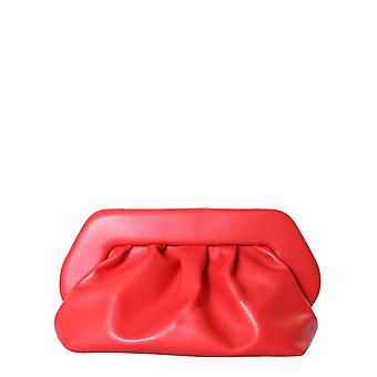 Themoirè Tmf20bn4 Women's Red Polyurethane Clutch